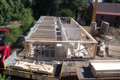 Strohbau im Bauprozess