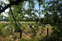 Zeltlager beim Sommerfest