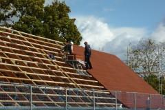 Neues Dach für die Nordscheune