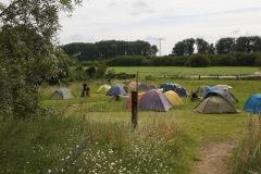 Zeltwiese beim Sommerfest
