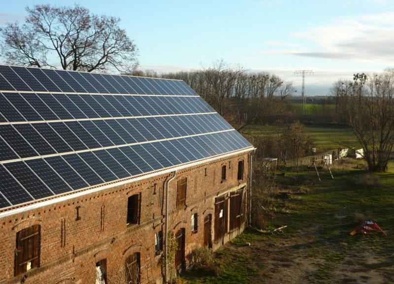 Photovoltaik-Anlage auf der Scheune